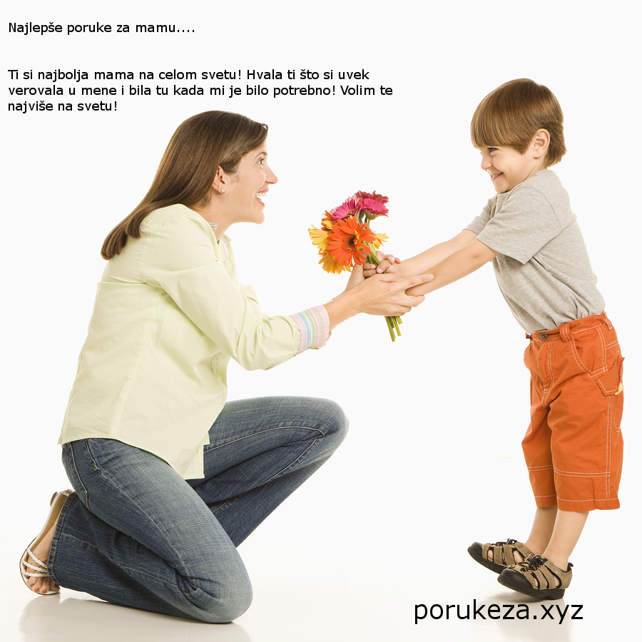 poruke za mamu od ćerke sina rođendan