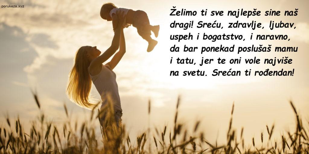 poruke za sina