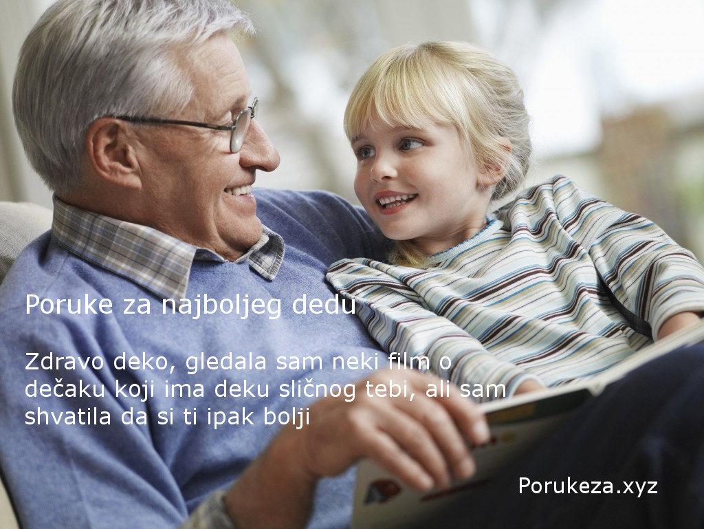 poruke za dedu deku baku najbolje