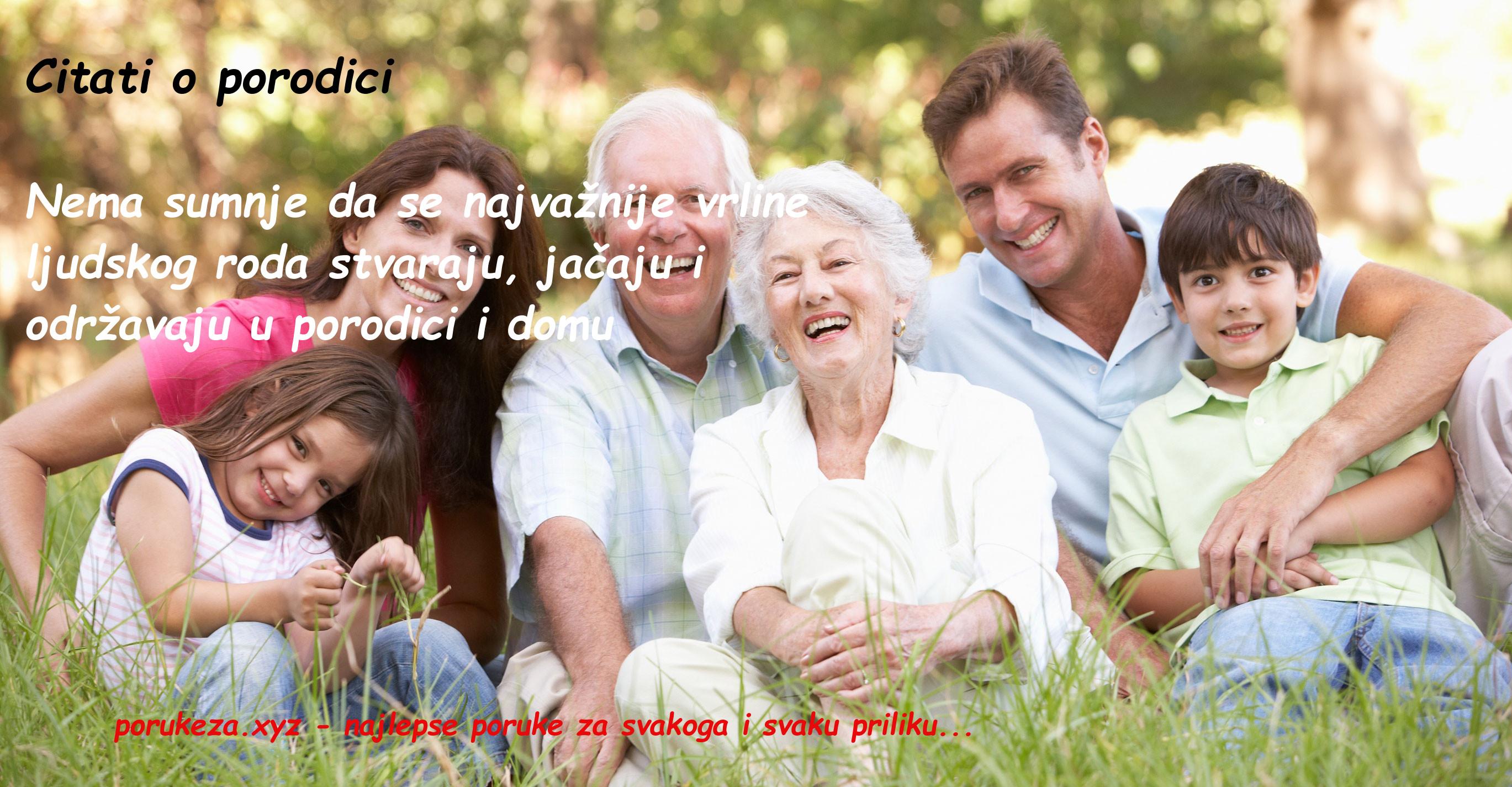 citati o porodici poruke za porodicu