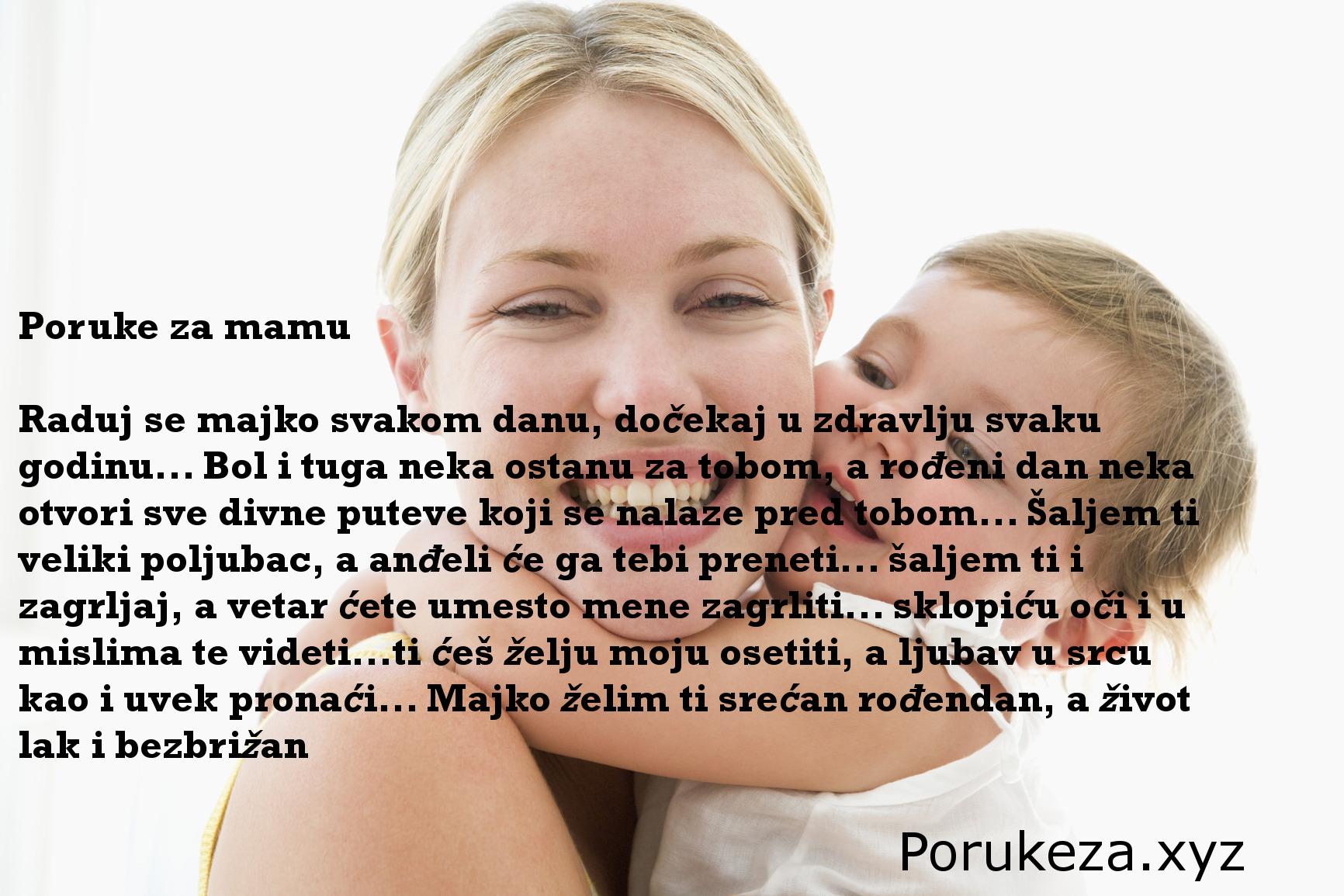 rođendanske poruke za mamu majku