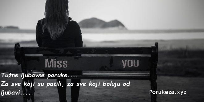 tužne ljubavne poruke