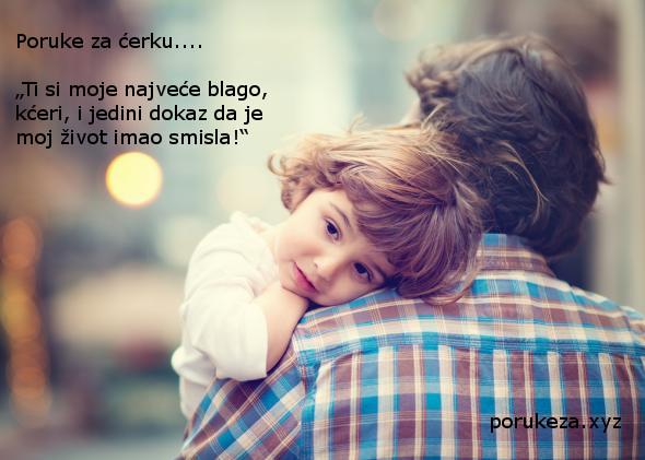 poruke za ćerku kćerku