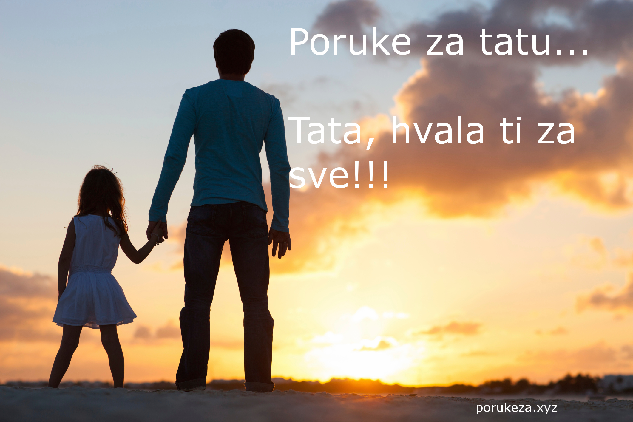 poruke za tatu oca